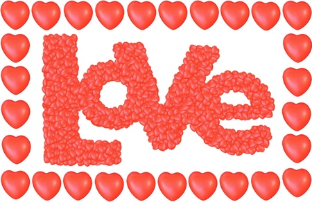 valentine's: Valentine s Day Love Hearts Greeting card