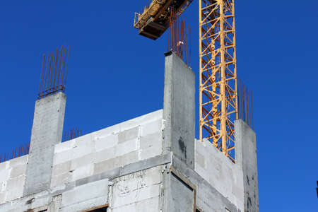 Process of construction a building Stock Photo - 18156948