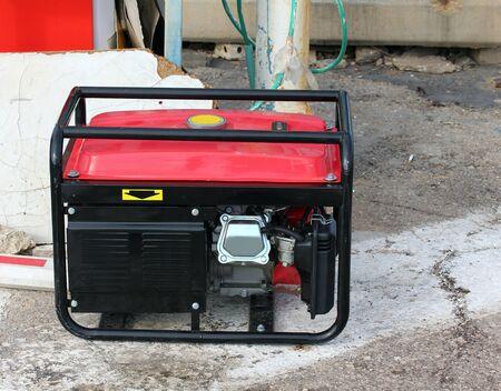 Gasoline powered emergency electric generator