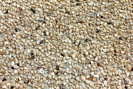 Relief plaster  with small stones texture  Selective focus Stock Photo - 18151646