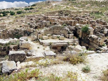 judean: Herodium or Herodion ruins   Judean desert, Israel