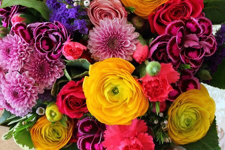 Bouquet of various flowers Stock Photo - 18809899