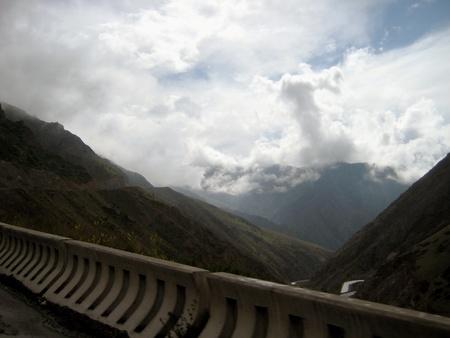 mountainous: Mountainous landscape of Kyrgyzstan