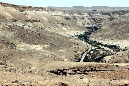 ein:  Ein Avdat Canyon in Negev desert, Israel