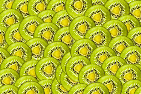 Kiwi pattern Stock Photo - 19448086