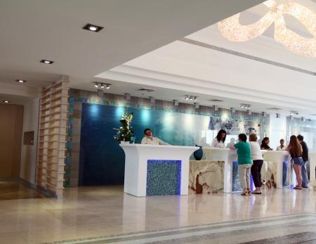 desk area: Hotel Reception Editorial