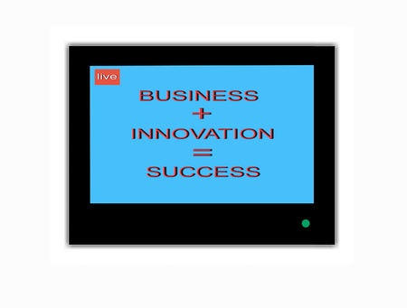 saver: TV screen saver  Business innovation success