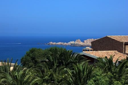 Sardinia landscape  Italy Reklamní fotografie