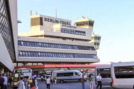 Tegel International Airport  in Berlin, Germany