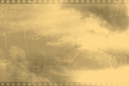 celluloid film: Patterned grungy background  with space for text or image