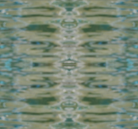 water reflection: Abstract blurry  water reflection surface background