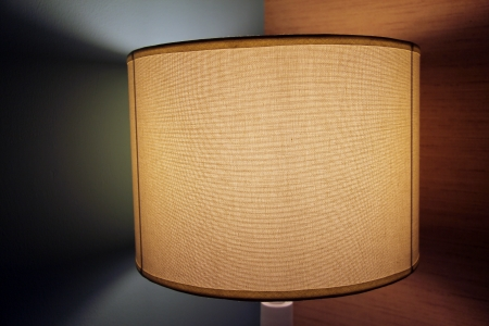 floor lamp: interior with a floor lamp