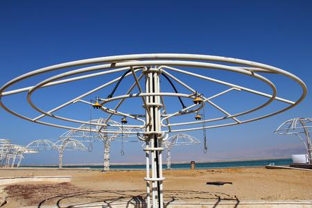 sediments:  Dead Sea, Israel Stock Photo