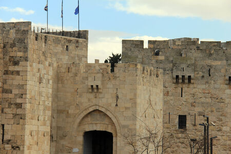 Jaffa gate  Jerusalem, Israel photo