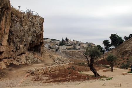 Kidron Valley  Jerusalem Reklamní fotografie - 24713136