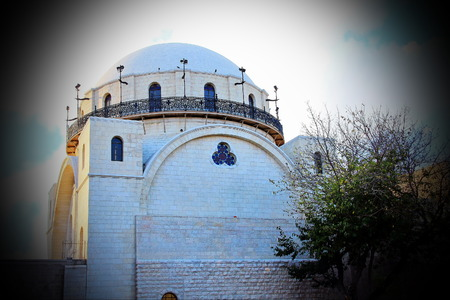 hurva: Historical synagogue of the Hurva is located in the Jewish Quarter of the Old City of Jerusalem  The earliest tradition regarding the site is of a synagogue existing there at the time of the 2nd century  The synagogue has been destroyed in 1948 by the ara