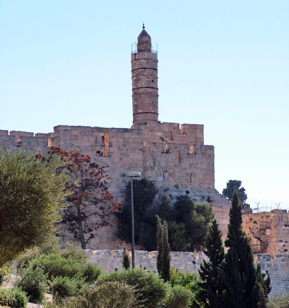 Tower of David  Jerusalem  Israel photo
