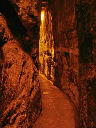 holies: Western Wall Tunnel  485 metres  Jerusalem  Israel