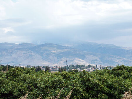 in the heights: The Golan Heights, Israel