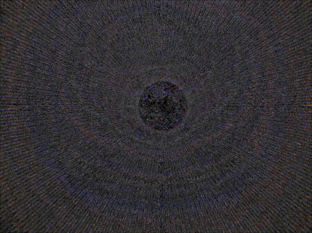 spacetime: Abstract simulated view of a space black hole (center). A black hole is a region of spacetime from which gravity prevents anything, including light, from escaping