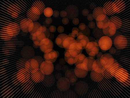 Abstract   orange night out of focus background with copy space photo