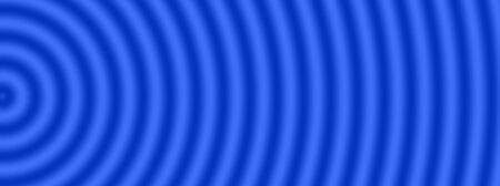 through travel: Space warp travel through universe blue background