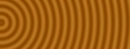 through travel: Space warp travel through  abstract brown universe