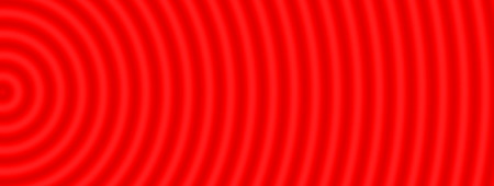through travel: Space warp travel through  abstract red universe