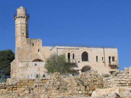 anointed: Tomb of the Prophet Samuel, near Jerusalem in Judea Desert, Israel