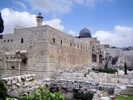 al aqsa: Al Aqsa Mosque in Jerusalem  Muslim holy place in Israel