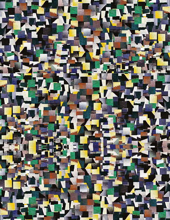 Mosaic   of pastel tones squares application creates beautiful abstract vintage pattern Stock Photo - 27253178