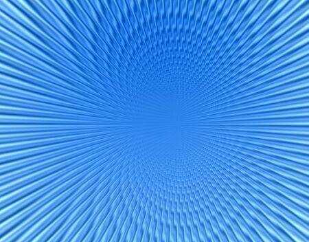 through travel: Space warp travel through  orange blue  abstract  universe