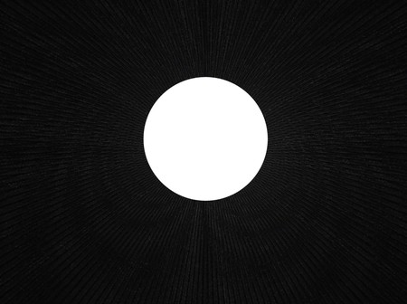 through travel: Space warp travel through  abstract black   universe