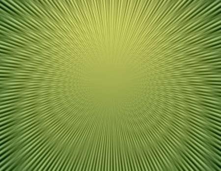 through travel: Space warp travel through  abstract green   universe