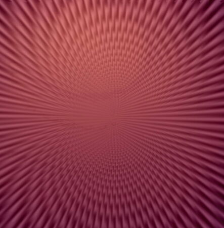 through travel: Space warp travel through  lilac red abstract  universe Stock Photo