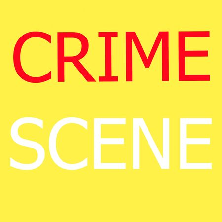 background csi: Crime Scene illustration sign