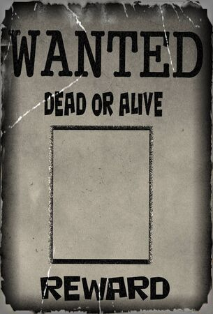 vintage wanted poster template background photo