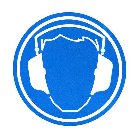 soundproof headphones symbol photo