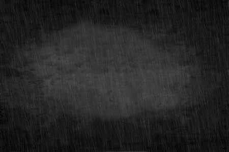 Abstract dark night sky with traces of rain background Stock Photo