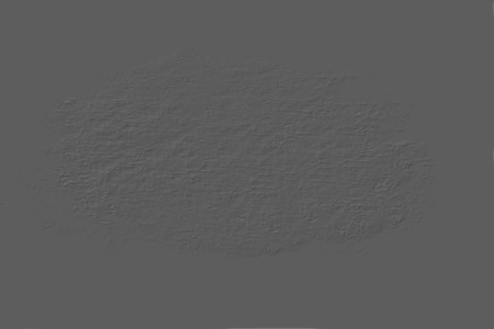 parget: Traces of poor-quality repair at a gray wall Stock Photo