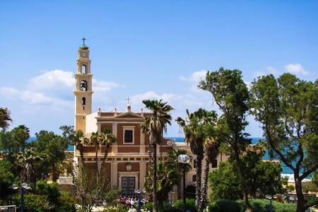 jaffo: St. Peters Church is a Franciscan Church in Jaffa, part of Tel Aviv, in Israel. Editorial