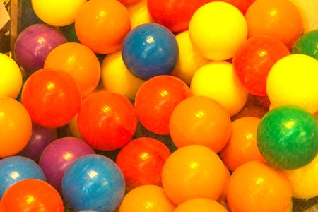 globule: Closeup of a colored plastic balls background