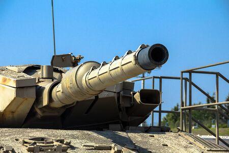 mk: Israel made main battle tank Merkava  Mk III on display at Yad La-Shiryon Armored Corps Museum at Latrun. Israel