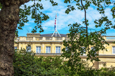 marlborough: One on the building of Marlborough House. London, UK Editorial