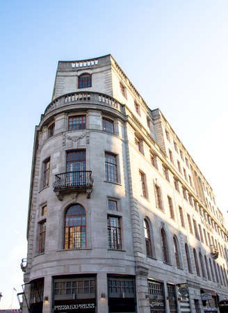 strand: Historic building on The Strand. London. UK Editorial