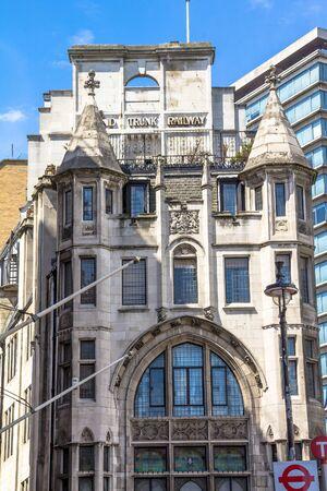 headquaters: Grand Trunk Railway Building.  Former Grand Trunk corporate headquaters in London