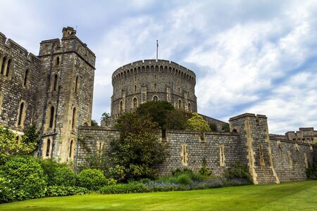 donjon: Donjon - the great tower or innermost keep of a Medieval Windsor Castle. Windsor Castle is a royal residence at Windsor in the English county of Berkshire. It was built in 1066 by William the Conqueror and it is the longest-occupied palace in Europe. Wind