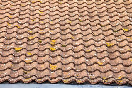 stile: English stile modern tile roof. Windsor. UK Editorial