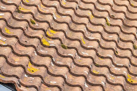 windsor: English stile modern tile roof. Windsor. UK Stock Photo