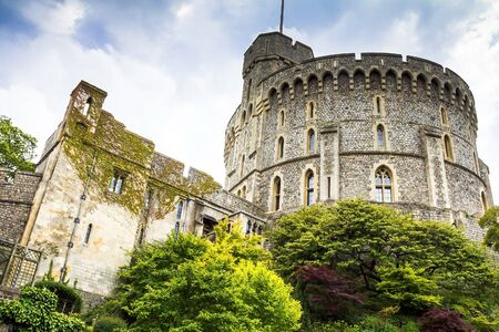 donjon: Donjon - the great tower or innermost keep of a Medieval Windsor Castle. Windsor Castle is a royal residence at Windsor in the English county of Berkshire. It was built in 1066 by William the Conqueror and it is the longest-occupied palace in Europe. UK
